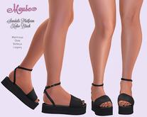 Mouse * Sandals Platform Xabo * Black