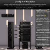 .01 [ kunst ] - Hi-Fi modular system rack RARE