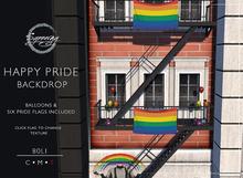 Synnergy// Happy Pride Backdrop