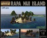 PROMO PRICE!!Rapa Nui  Off Sim Island -Tiki island - outside sim island