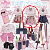 .tsg. Delinquent Uniform - Pink [Belleza Exp Fit]