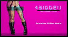 .::4BIDDEN::. Salvatore Glitter Heels