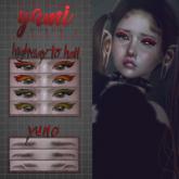 yami - yuno eyebrows - genus + bom