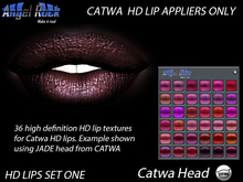 ANGEL ROCK CATWA HD LIPS SET ONE