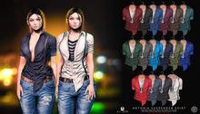 //Ascend// Antonia Suspender Shirt - FATPACK