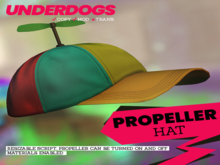 [UnderDogs] - Propeller Hat - Realistic/Animated