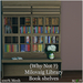 {Why Not ?} Milovaig Library Book Shelves- Boxed