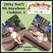 {Why Not?} Sit Anywhere Cushion-C-Boxed