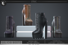 .STOIC. GALICIA ANKLE BOOTS FATPACK
