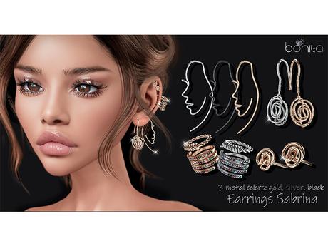 *Bonita* Earrings Sabrina