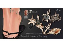 *Bonita* bracelet summer fantasy (Maitreya, Legacy)