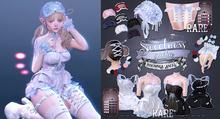 Insomnia Angel . sweetness gacha - cuffs [navy]