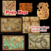 ~TJ~  Pirate Maps - Textures