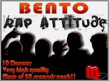 MocapAnimations Rap Attitude BENTO dance Pack!