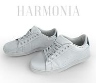 * Harmonia White Sneakers - Maitreya Inithium Kupra Signature Gianni