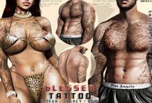 Hoodlem - Blessed Tattoo (Unisex) Omega / Legacy / BOM
