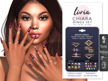 LIVIA Chiara Bento Ring Set [Maitreya / Legacy / Slink / Belleza / Tonic]