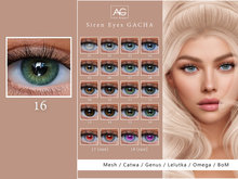 AG. Siren Eyes Gacha - Lelutka Evo - 16