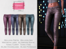 [COSMOS] Clair Pants Velvet / 4 Colors Fatpack Demo
