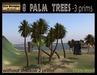 8 Palm trees- 3 prims