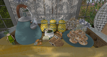 CJ Delicious Sweets & Tea Coffee Tray with Props