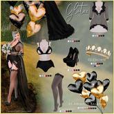 09 [Glitzz] BDay Stockings - Maitreya - Black