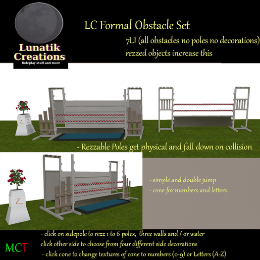 LC Formal Obstacle Set