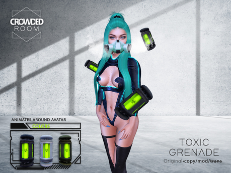 Crowded Room - Toxic Grenade (ADD)