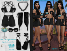 *Tay-Lay-Designs* Sweet Poison-Outfit 4 (Mesh)