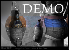 *!* Beer belt  DEMO- wear to unpack