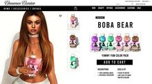 [Cinnamon Cocaine ] Boba Bear Pack (add & touch)