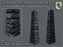 Icaland - Foundation pillar 2