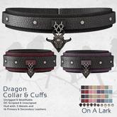 *OAL* Dragon Collar & Cuffs ~ Complete (add me)
