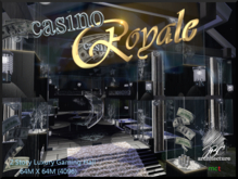"""JBC Newest Release """"Casino Royale""""  Luxury Gaming Hall"""