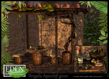 (*.*) EDEN Pergola grape aperitif Giver - wear to unpack