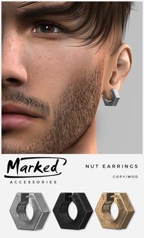 MARKED - Nut Earring