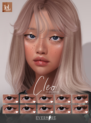 EVERMORE. [ cleo - lashes ] - LELUTKA - wear me