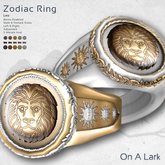 *OAL* Zodiac Ring ~ Leo (add me)