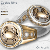 *OAL* Zodiac Ring ~ Cancer (add me)