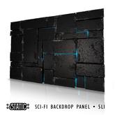 ::Static:: Scifi Backdrop Wall
