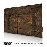 ::Static:: Ruins Backdrop Panel