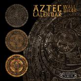 ::Static:: Aztec Calendar Wall Decor