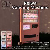 [DDD] Reiwa Vending Machine