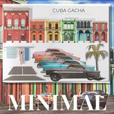 MINIMAL - Cuba Building -4- Pink