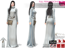 %50SUMMERSALE Female Space Monk Robe With Optional Book Belt Accessory Maitreya Slink Belleza Tonic Ocacin