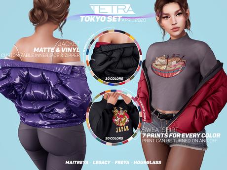 TETRA - Tokyo Puffer jacket (DEMO)