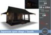 * M^2 * Japanese open stage / booth (BOXED/MESH/COPY/MOD)