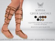 [Ari-Pari] Sophia Greek Sandals