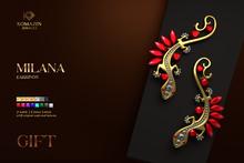 Romazin - Earrings <Milana>, GIFT