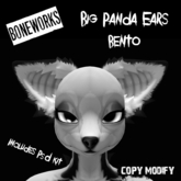!Boneworks! > Big Panda Ears (boxed)